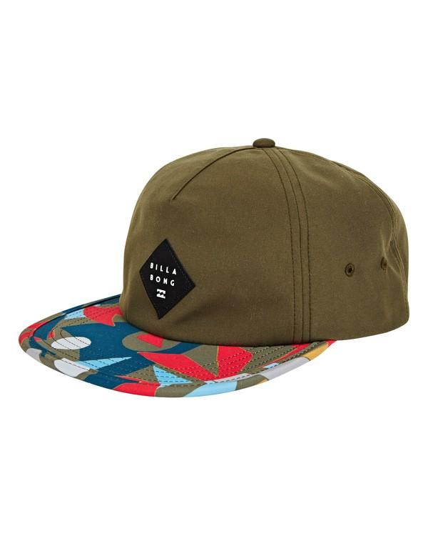 0 Jetty Hat Green MAHWUBJE Billabong