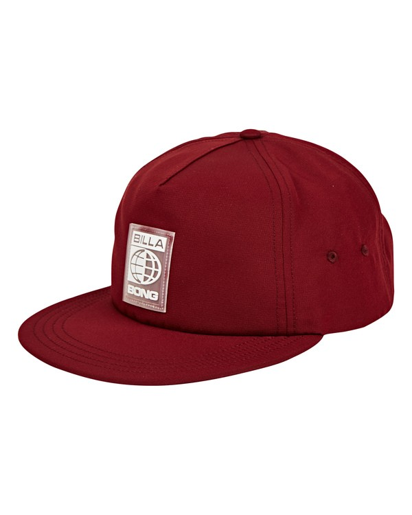 0 Slappy Hat Red MAHWUBSL Billabong