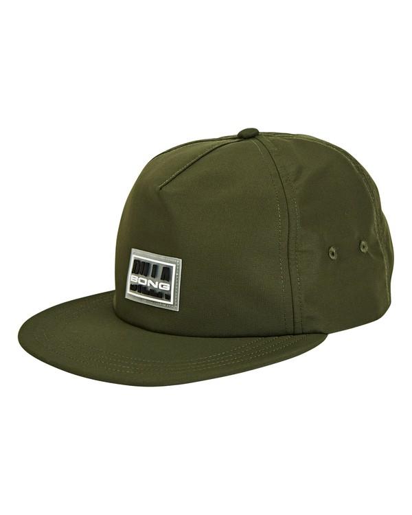 0 Slappy Hat Green MAHWUBSL Billabong