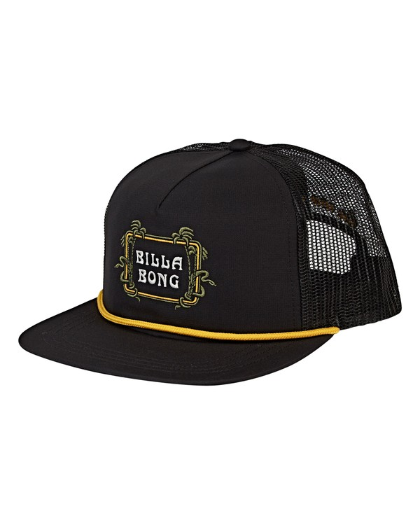 0 Alliance Trucker Hat Black MAHWVBAL Billabong