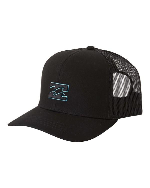 0 All Day Trucker Hat White MAHWVBAR Billabong