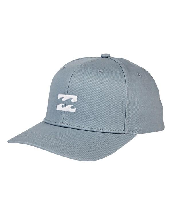 0 All Day Snapback Hat Blue MAHWVBAS Billabong