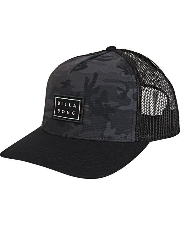 0 Beachcomber Trucker Hat Black MAHWVBBC Billabong