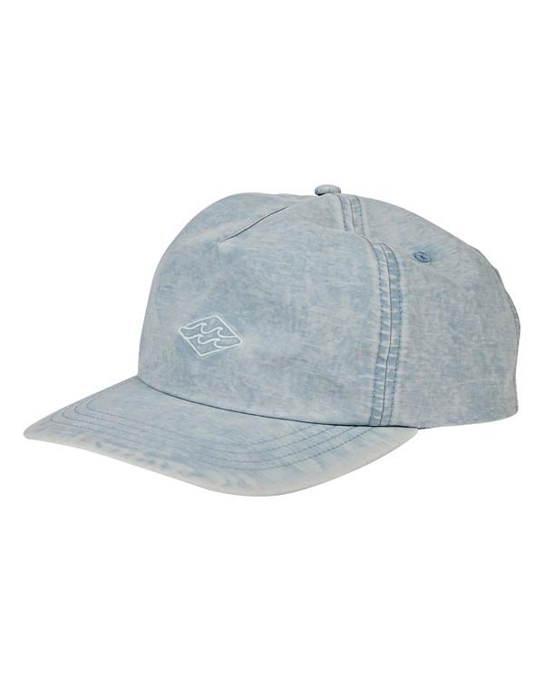 0 Lock Down Hat Blue MAHWVBLO Billabong
