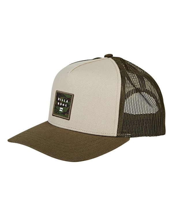 0 Stacked Trucker Hat  MAHWVBST Billabong