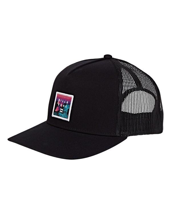 0 Stacked Trucker Hat Grey MAHWVBST Billabong