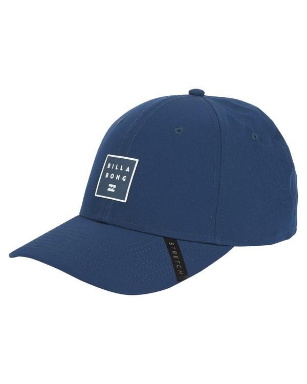 0 Tech Stretch Hat Blue MAHWVBTE Billabong