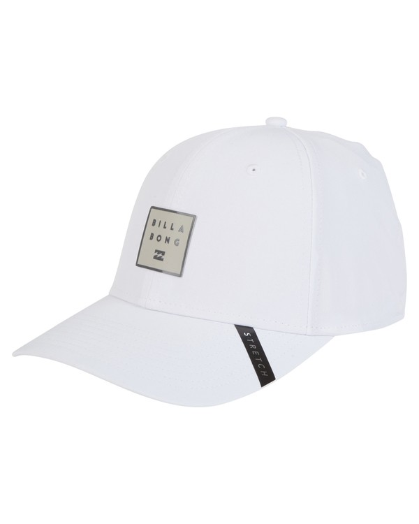 0 Tech Stretch Hat White MAHWVBTE Billabong
