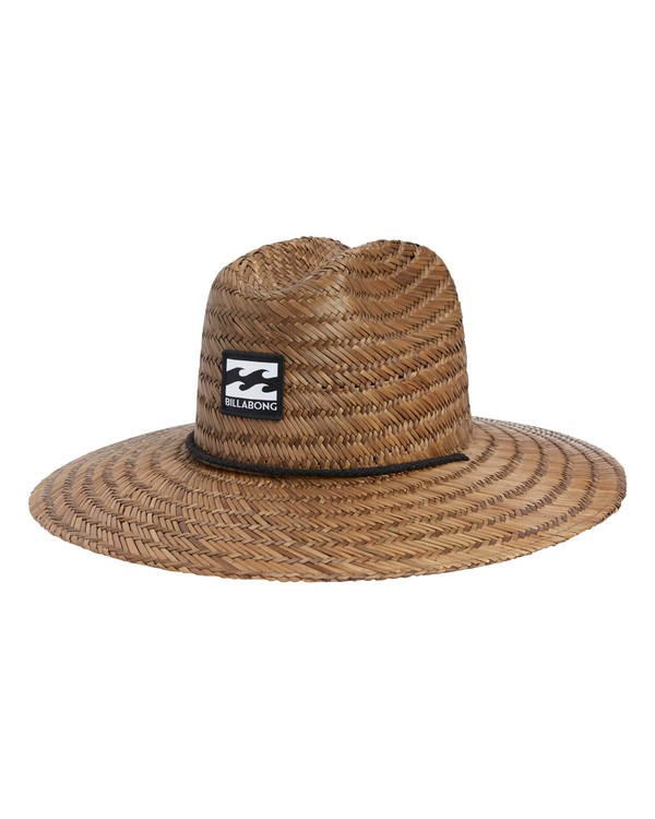 0 Tides Lifeguard Straw Hat Brown MAHWVBTI Billabong