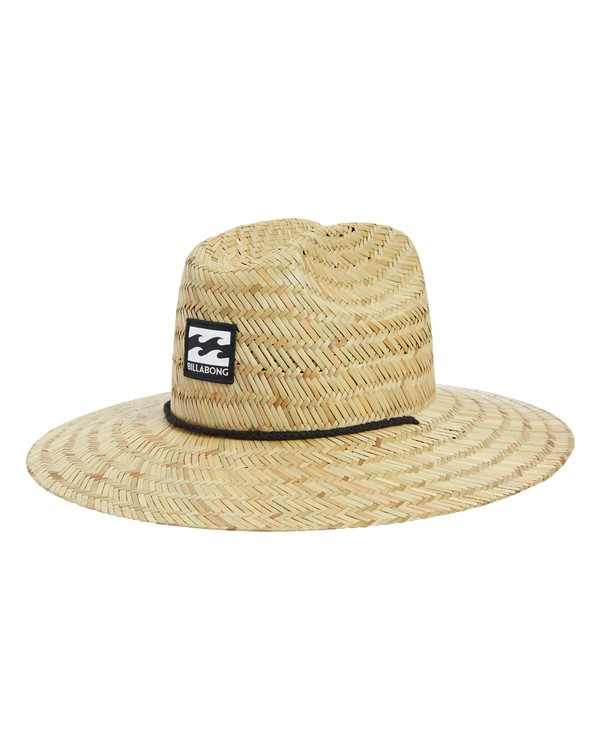 0 Tides Lifeguard Straw Hat White MAHWVBTI Billabong