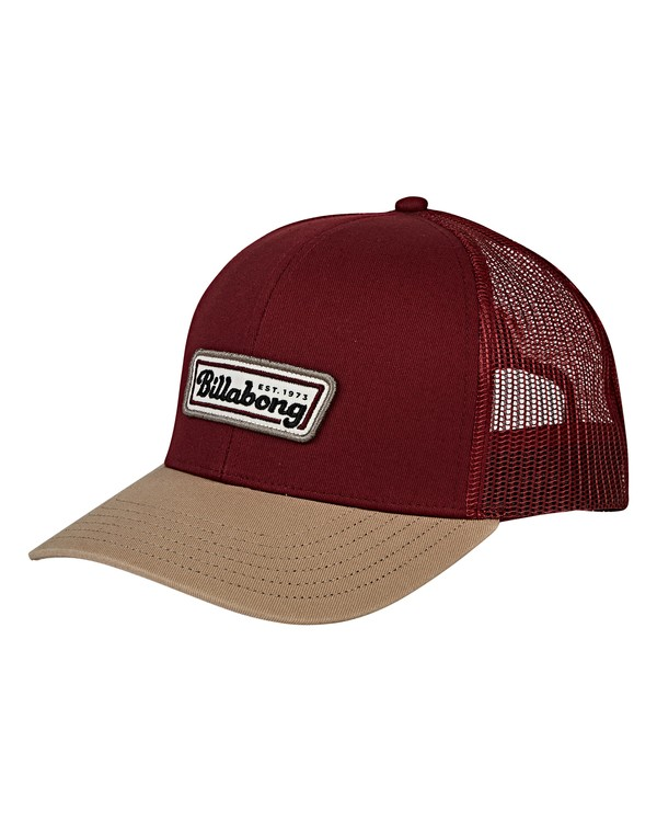 0 Walled Trucker Hat Red MAHWVBWA Billabong