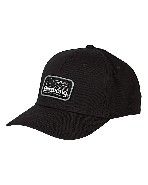 0 Walled Stretch Hat Black MAHWVBWD Billabong