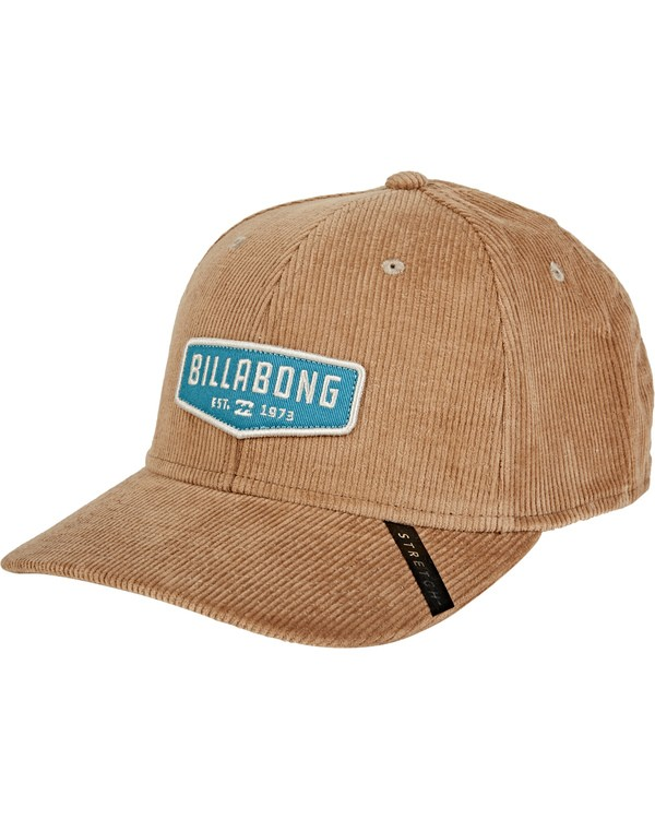 0 Walled Stretch Hat Brown MAHWVBWD Billabong