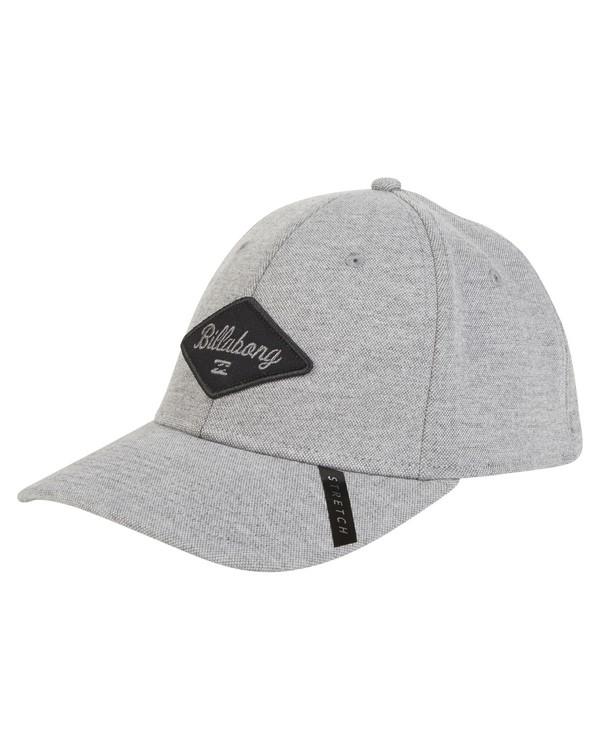 0 Walled Stretch Hat Grey MAHWVBWD Billabong