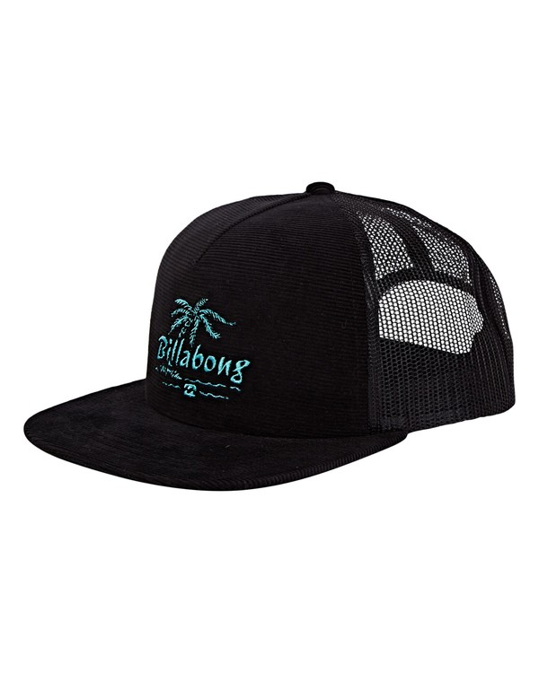 0 Alliance Trucker Hat Black MAHWWBAL Billabong