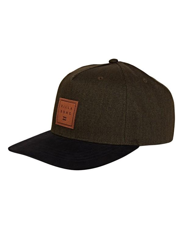 0 Stacked Up Snapback Hat Green MAHWWBSU Billabong