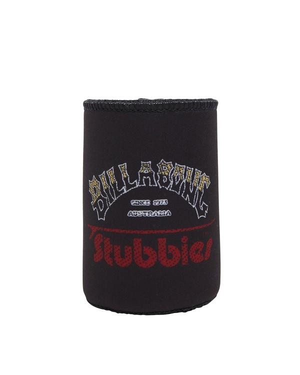 0 Stubbies Stubbie Holder Black MAMC1BZR Billabong