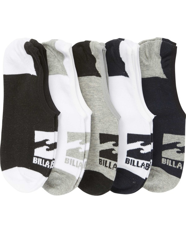 0 Invisible Sock 5 Pack Standard  MASOQBIS Billabong