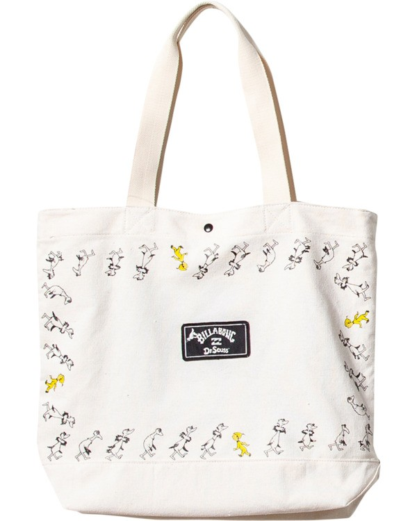 0 Oh The Places Tote White MATB3BOH Billabong