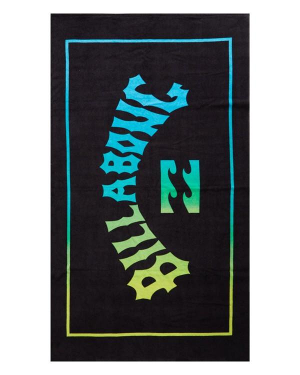 0 Arch Wave Towel Black MATW1BAW Billabong