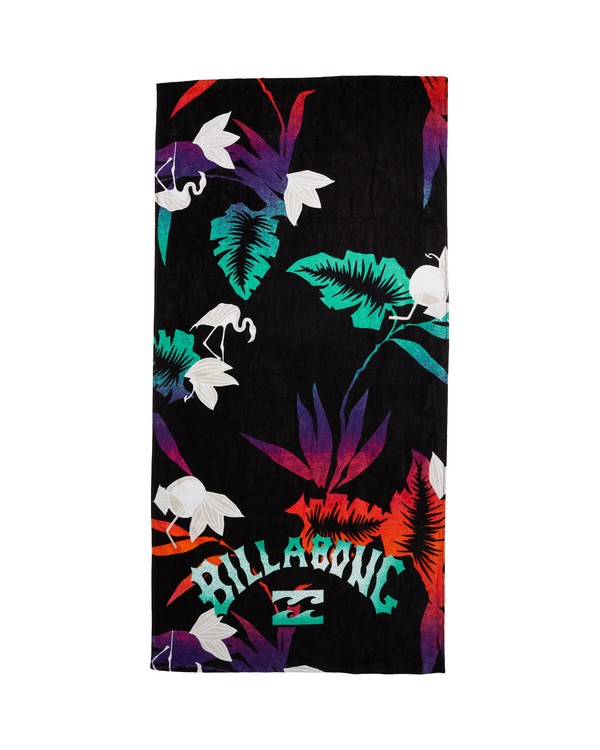0 Paradise Towel Black MATW1BPR Billabong