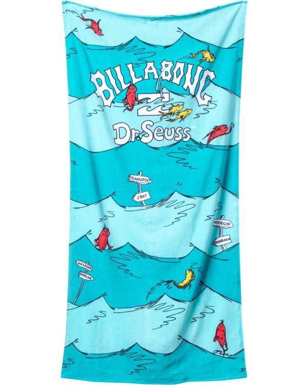 0 One Fish Two Fish Towel Blue MATW3BON Billabong