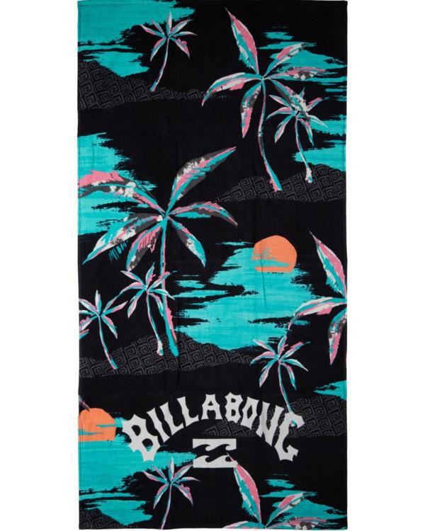 0 Waves Towel Black MATW3BWA Billabong