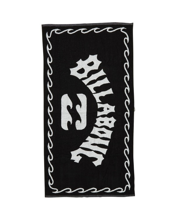 0 Arch Towel Black MATWTBAR Billabong