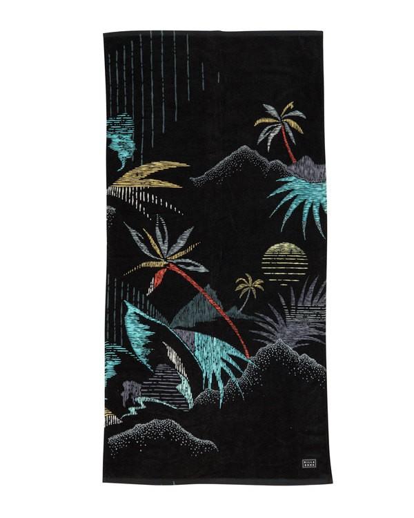 0 Waves Towel Black MATWTBWA Billabong