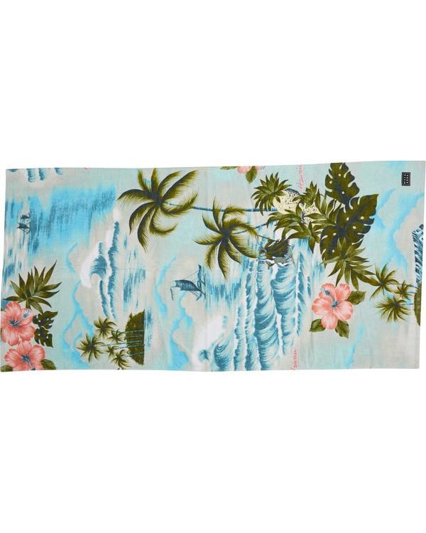 0 Waves Towel Blue MATWTBWA Billabong