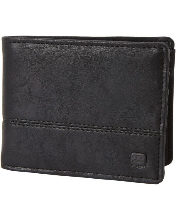 0 Dimension Wallet Black MAWT1BDI Billabong