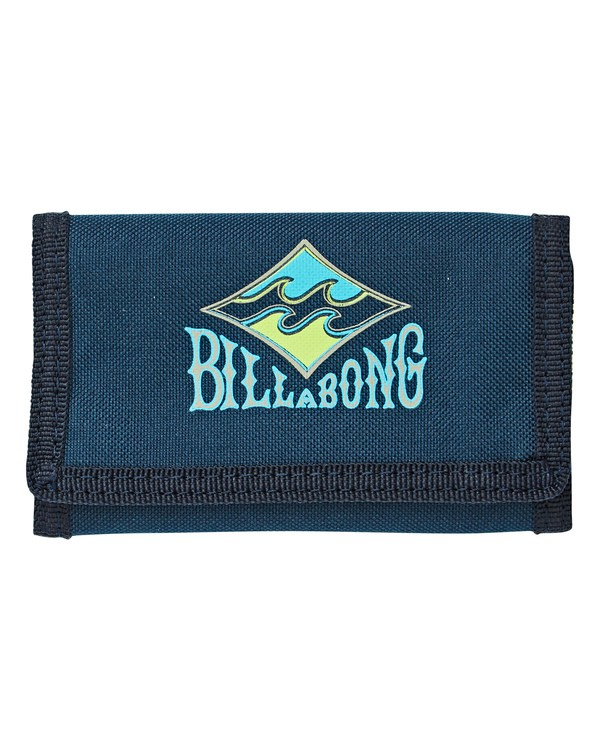 0 Atom Wallet Blue MAWTGATO Billabong
