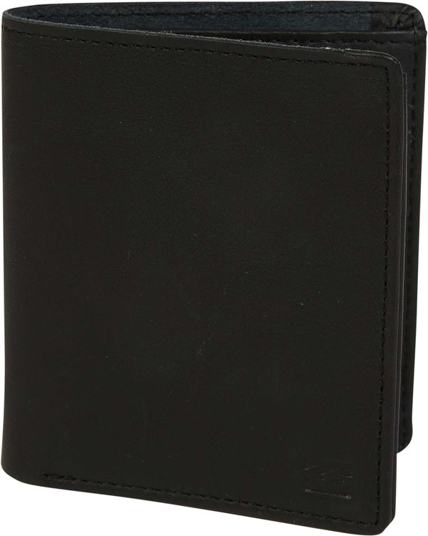 0 Gaviotas Leather Wallet Black MAWTTBGL Billabong