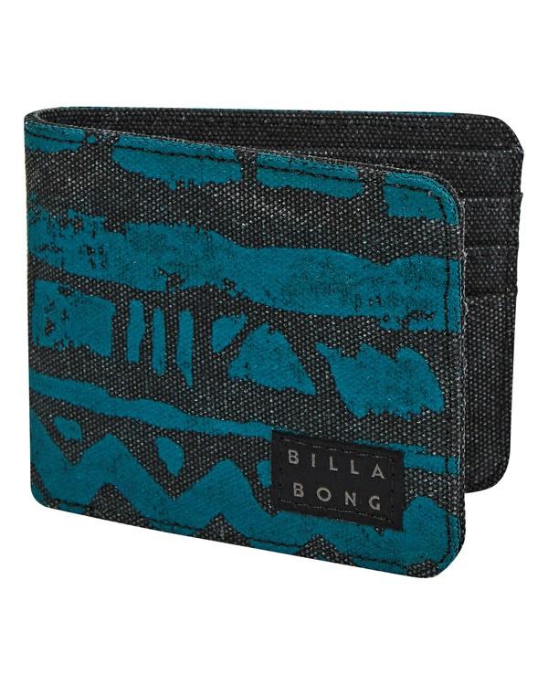0 Tides Bi-fold Wallet Black MAWTTBTI Billabong