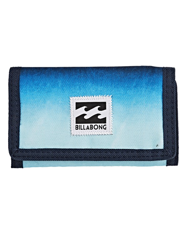 0 Atom Wallet Blue MAWTVBAT Billabong