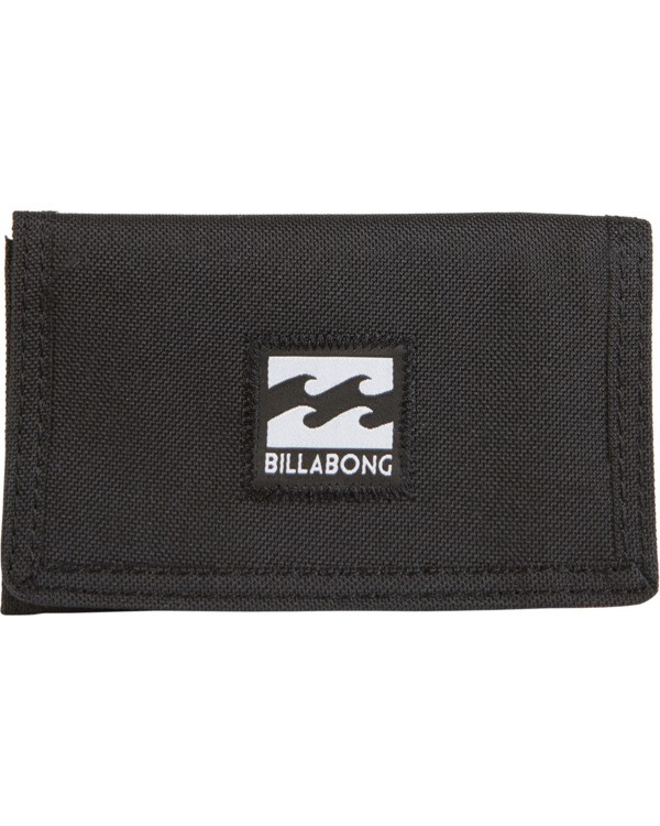 0 Atom Wallet Grey MAWTVBAT Billabong