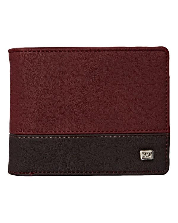 0 Dimension Wallet Red MAWTVBDI Billabong