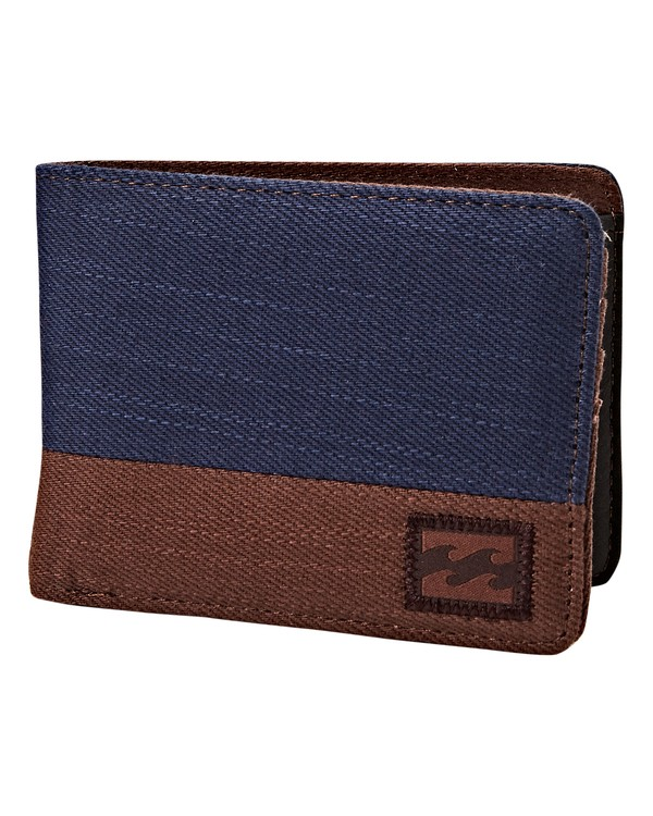 0 Dimension Twill Wallet Blue MAWTVBDT Billabong