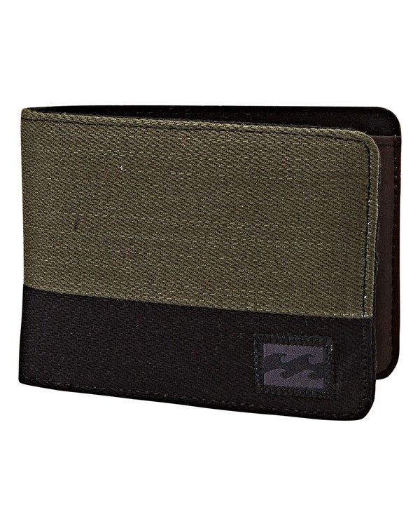 0 Dimension Twill Wallet Green MAWTVBDT Billabong