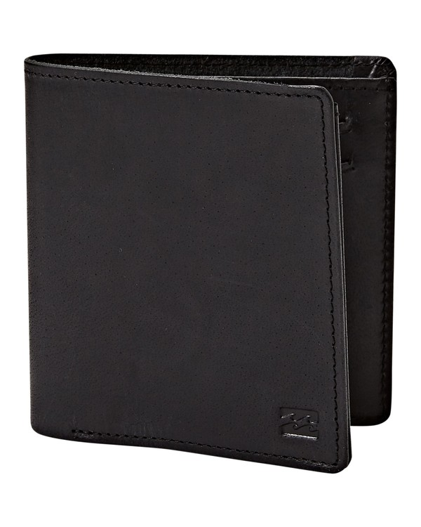 0 Gaviotas Leather Wallet Black MAWTVBGL Billabong