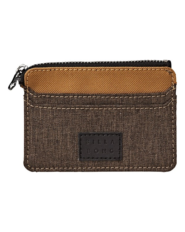 0 Garza Twill Wallet Brown MAWTVBGT Billabong