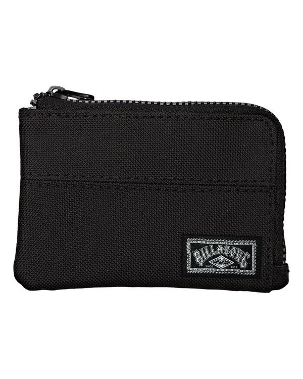 0 New Wave Wallet Black MAWTWBNW Billabong