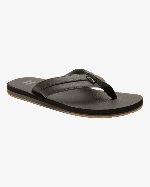 0 All Day Impact Cush Sandals Black MFOT1BAC Billabong