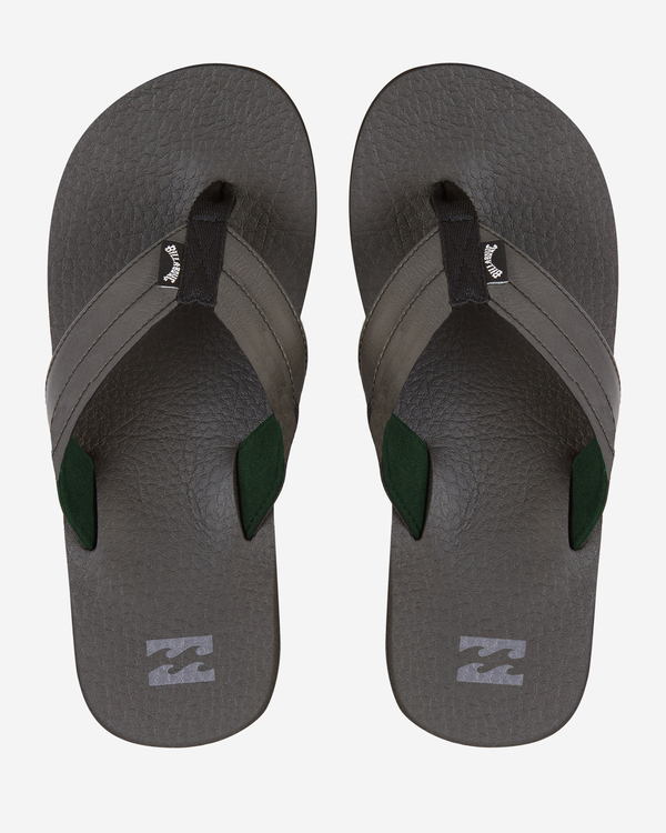 0 All Day Impact Cush Sandals Black MFOT1BAC Billabong