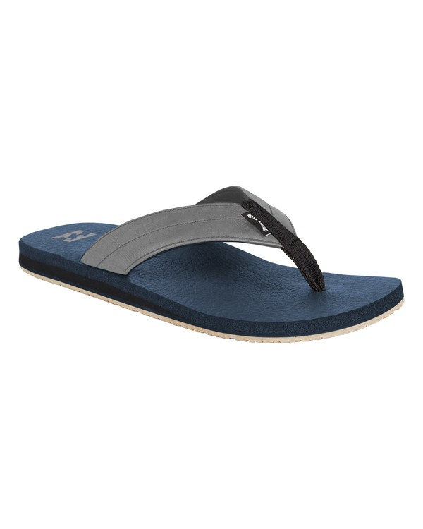 0 All Day Impact Cush Sandals Blue MFOT1BAC Billabong