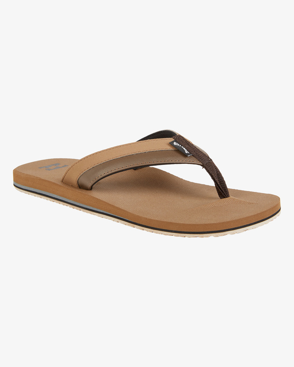 0 All Day Impact Sandals Brown MFOT1BAD Billabong