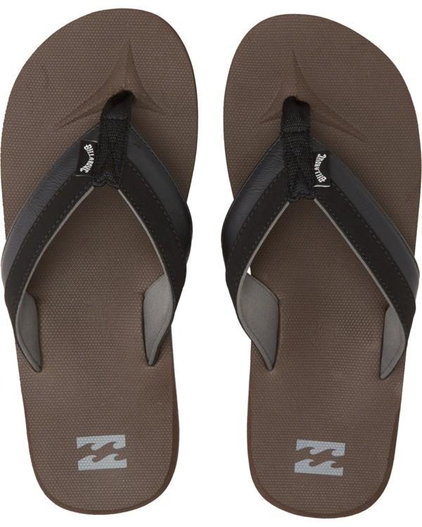 0 All Day Impact Sandals Brown MFOT1BAD Billabong