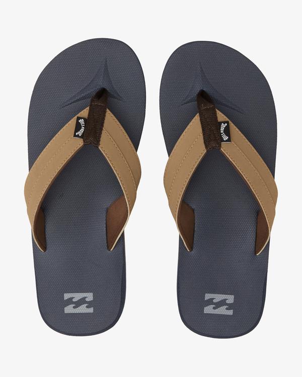 0 All Day Impact Sandals Blue MFOT1BAD Billabong