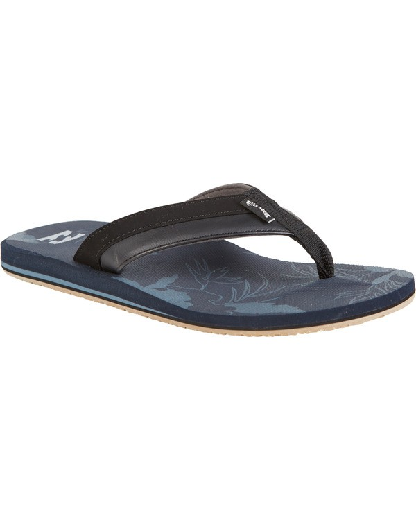 0 All Day Impact Print Sandals Blue MFOT1BAI Billabong