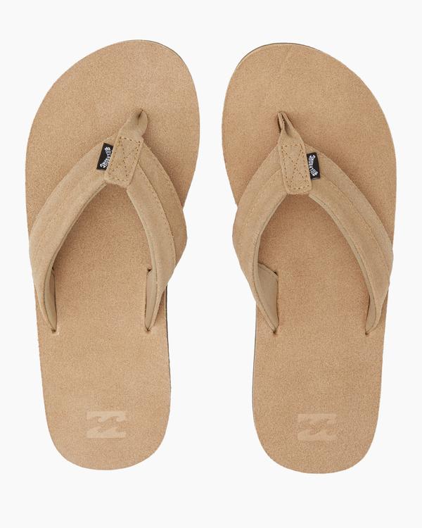 0 All Day Leather Sandals Brown MFOT1BAL Billabong